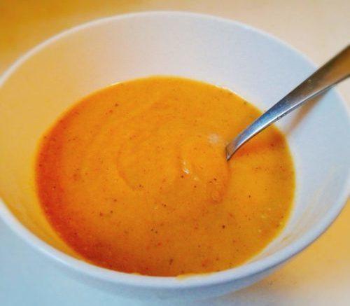 便秘によく効く♪カボチャとサツマイモのスープ