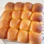 シナモンが薄っすら香るドライフルーツ入りちぎりパン